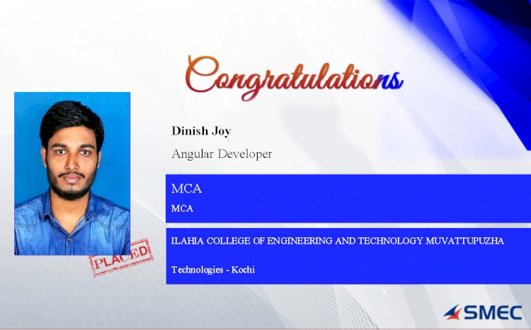 Placed Candidate in MVC Angular Developer