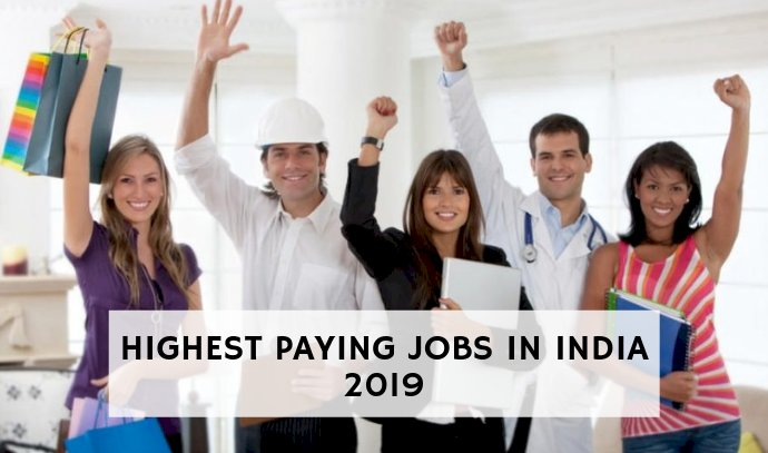 Highest Paying Jobs  in India
