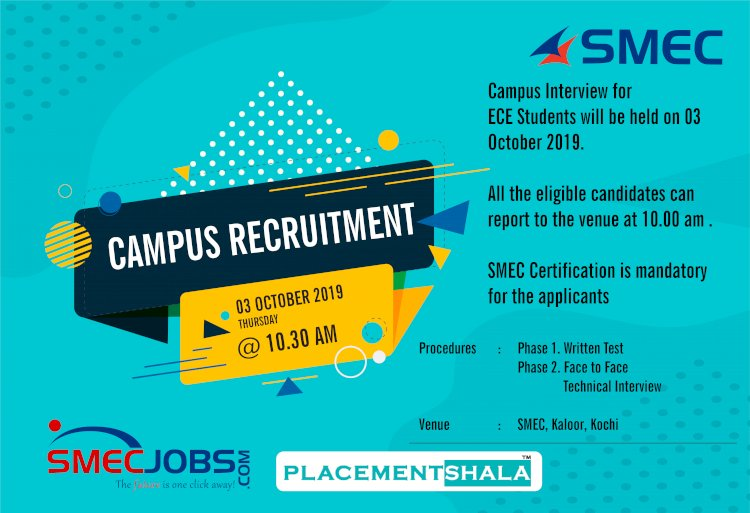 Campus Recruitment for ECE-IT Students