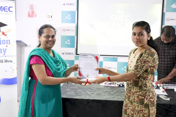 Certification Ceremony of SMEC Technologies Students