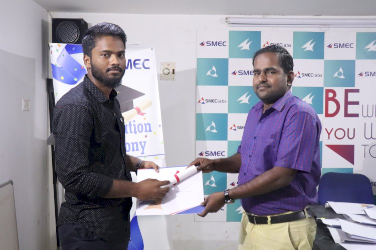 SMEClabs - Instrumentation department Certification Ceremony