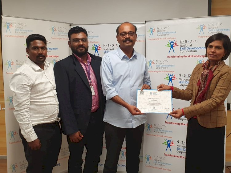 Proud Moment for SMEC - It's Great to be  the first  NSDC approved training partner in Kerala