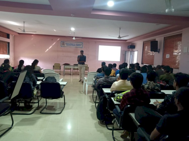 Technical Seminar conducted @Jhondale Polytechnic college for ME,EL,EXTC