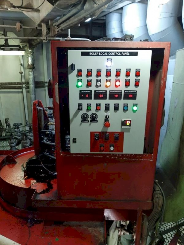 SMEC BOILER CONTROL PANEL