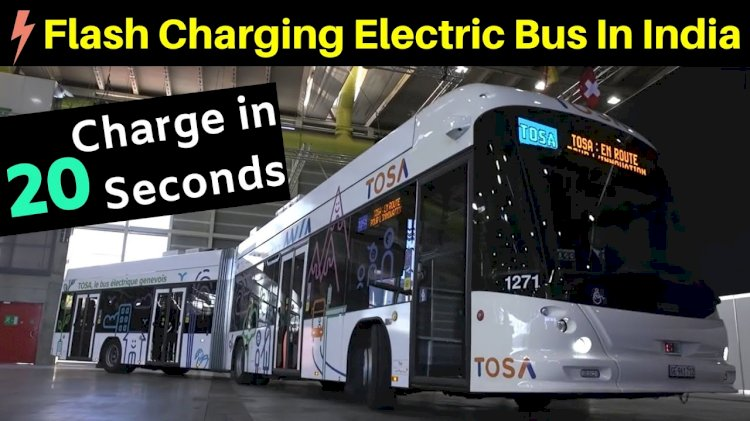 Ashok Leyland to use ABB's flash-charging technology in its electric buses