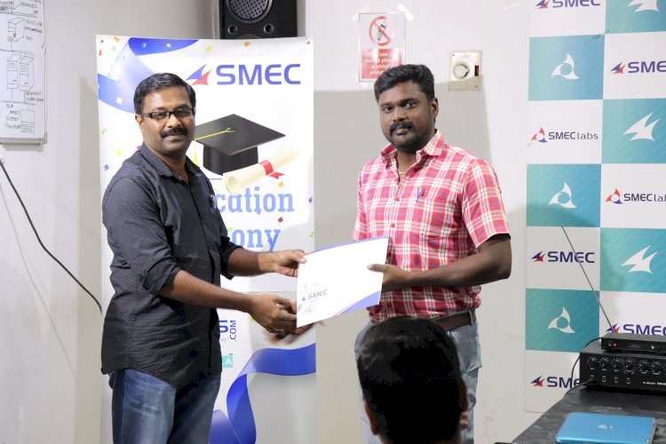 Corporate Training Certification Ceremony  for Engineers of Electrojet Machinery Private Limited
