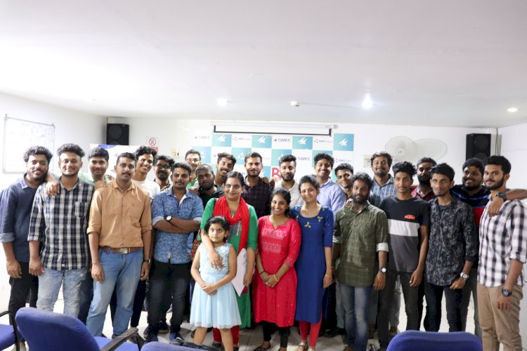Industrial Visit From Adi Shankara Institute of Engineering and Technology,Kalady