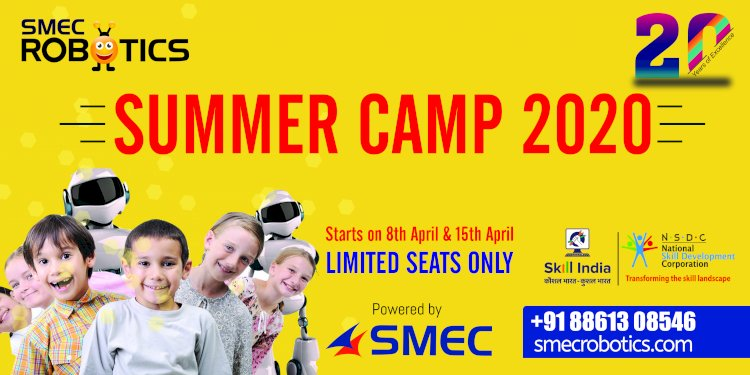 SMEC robotics ROBO Summer Camp 2020